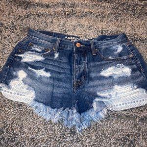 American Eagle Jean Shorts w/ visible pockets